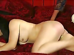 Milf Spanks not daughter's Bare Ass Red.
