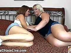 Sexy Charlee Chase and Seelah eat pussy