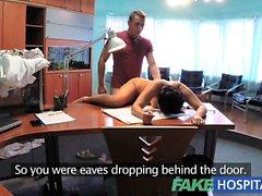 FakeHospital Patient overhears doctor fucking nurse