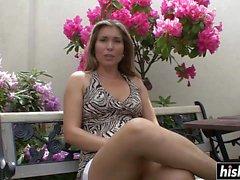 Double penetration for milf Evelina Marvellou