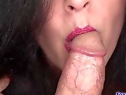 Beautiful MILF Sucks And Slides On Cock