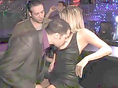 French MILF threesome & DP in swinger club