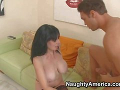Horny MILF Karen Kougar gets hardcored