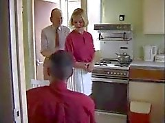 British housewife whore fucked in the kitchen