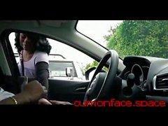 Black MILF Watches Me Flash Cock Cum in Public HD - cumonface.space