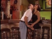 Milf in black stockings fucked in bar 1 - 2 On HDMilfCam,com