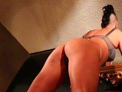 Jezebelle Bond teases the camera in her lingerie