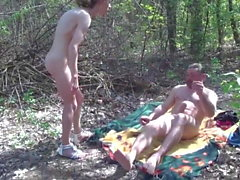 Hairy amateur pissed off