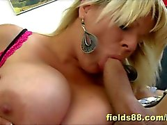 Super Hot MILF with huge tits