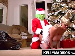 KELLY MADISON - The Grinch Who Stole Clitmas