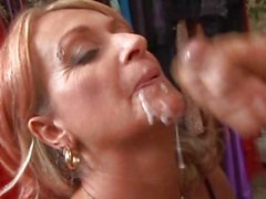 Mature lady gets her hands on some fresh meat