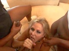 Lovely Julia Ann going for a big cock