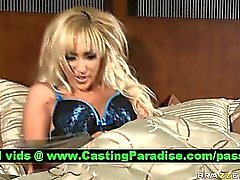 Breanne Benson stunning blonde masturbating
