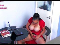 Wife caught office hidden cam