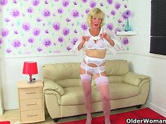 These British milfs love doing a striptease and more