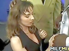 Loose MILF In An Interracial Gangbang