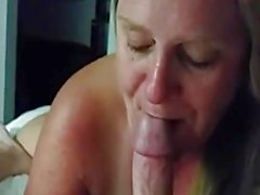 Wife slavers over this hard dick