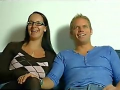 Hot mom n152 brunette german mature milf in threesome