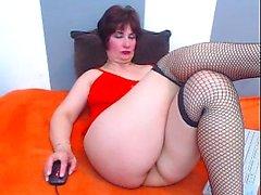 Brunette Big Boobs Dildo Webcam
