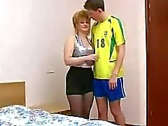 Blond Russian Mature Wife Cheat
