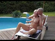 Classy Mature Fucked At The Pool