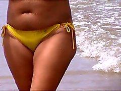 sexy milf beach jiggly ass spy 52,, nice ass mom