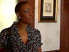 Black Mature Woman Fucks Younger Girl...F70