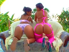 MILF PAWGS Darlene & Daughter Angel Get BBC in All Holes
