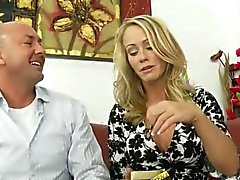 Extremely fashionable babe banged and fucked by lover