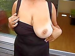 Amateur MILF Shows Her Huge Tits