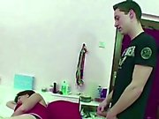Mom Caught Step-Son Jerk and Helps Him with Hardcore Fuck