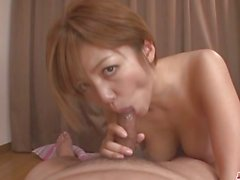 MILF Meguru Kosaka Sucks Dick And 69´s In POV