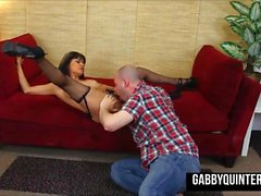 MexiMILF Gabby Quinteros Gets Pussy Pounded