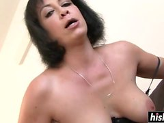 MILF chick passionate riding a BBC