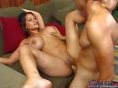 Busty milf Ava Lauren invites boy to fuck