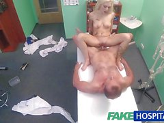 Cock slides into the kinky patient