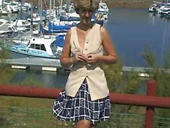 UK Sara, at the marina