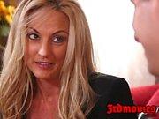 Cougar Tutor Nina Elle loves big dicks
