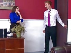 Brazzers - Office slut Lola Foxx needs cock in her ass