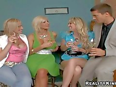 Attractive experienced pussy eating blonde milfs Puma Swede, Kylie and : Pornsharing nude video