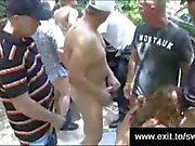 Mature Swinger Party at the nude beach
