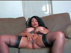 Danica Collins on High Heels and Stockings HD