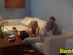 Blonde MILF Craving Hard Cock