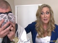 Brandi Love teaches her stepson a lesson