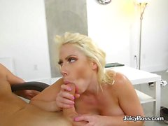 Curvy Boss Sunny Loves Big Dong Of Driver