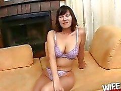 Tina Tyler sucking a big black dick