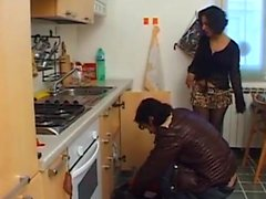 Milf have sex with a plumber at home - Pt2 On HDMilfCam,com