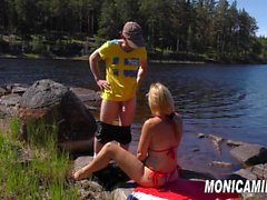 Norsk porno - Norge rundt med MonicaMilf