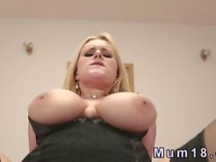 Natural huge tits mature fucking POV hard