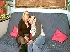 Italian Mom And Boy (Tina Monti)